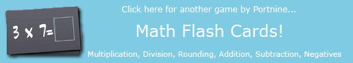 Math Flash Cards!